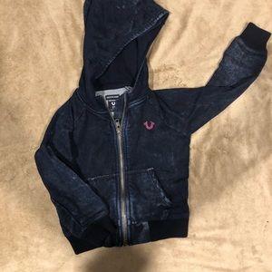 True Religion Toddler hoodie size 2T